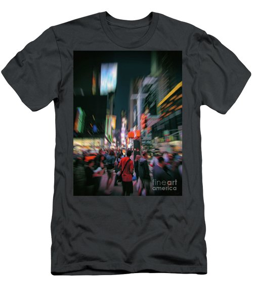 Alone In New York City 1 Men's T-Shirt (Athletic Fit)
