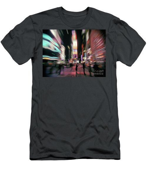 Alone In New York City 3 Men's T-Shirt (Athletic Fit)