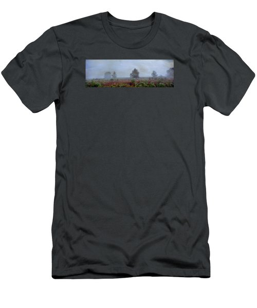 Men's T-Shirt (Slim Fit) featuring the photograph Alone On A Hill by John Rivera