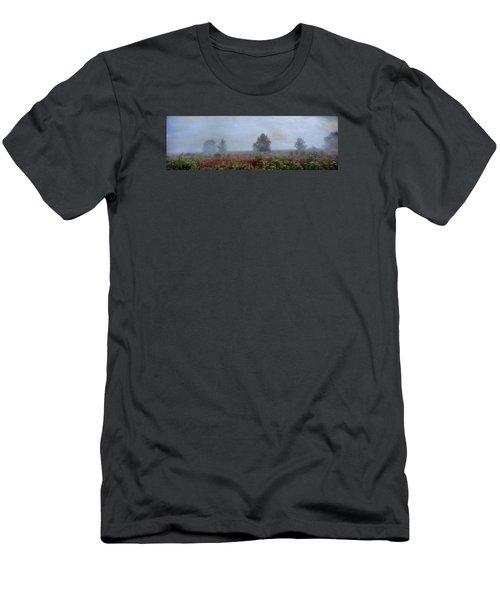 Alone On A Hill Men's T-Shirt (Slim Fit) by John Rivera