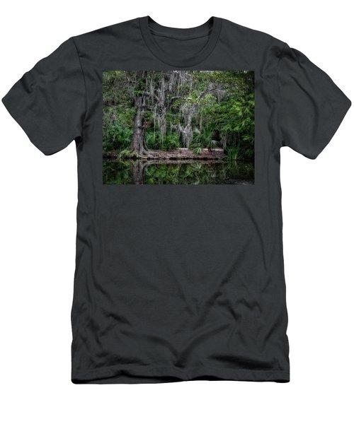 Along The Bank Men's T-Shirt (Athletic Fit)