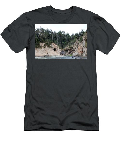 Along The Oregon Coast - 2 Men's T-Shirt (Athletic Fit)