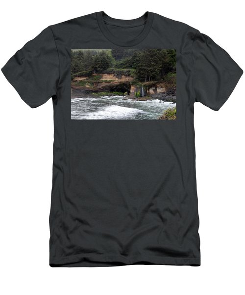 Along The Oregon Coast - 5 Men's T-Shirt (Athletic Fit)