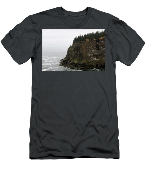 Along The Oregon Coast - 6 Men's T-Shirt (Athletic Fit)