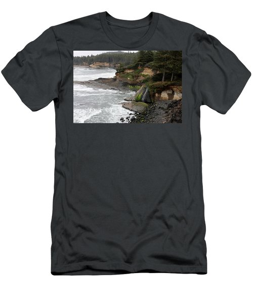 Along The Oregon Coast - 7 Men's T-Shirt (Athletic Fit)