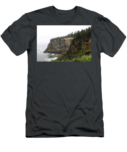 Along The Oregon Coast - 8 Men's T-Shirt (Athletic Fit)