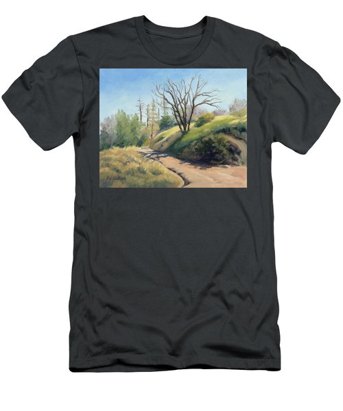 Along The Pacific Crest Trail Men's T-Shirt (Athletic Fit)