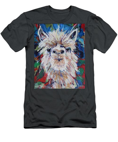 Alpaca Crazed Men's T-Shirt (Athletic Fit)