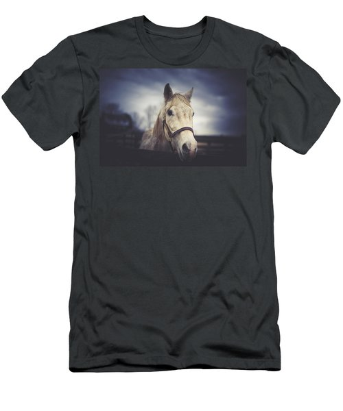 Men's T-Shirt (Slim Fit) featuring the photograph Alphabet Soup by Shane Holsclaw