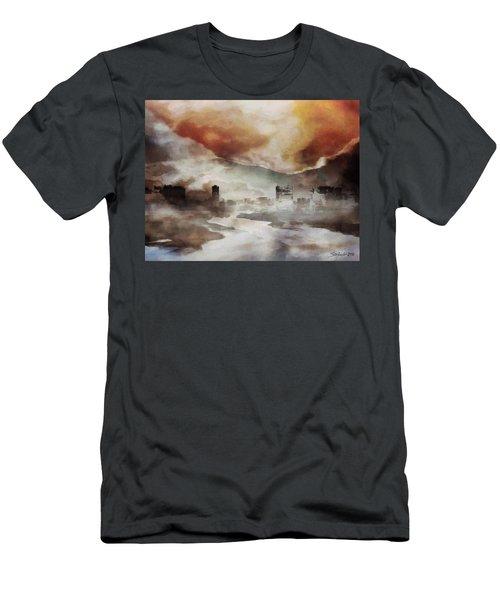 Alpine Landscape Men's T-Shirt (Athletic Fit)
