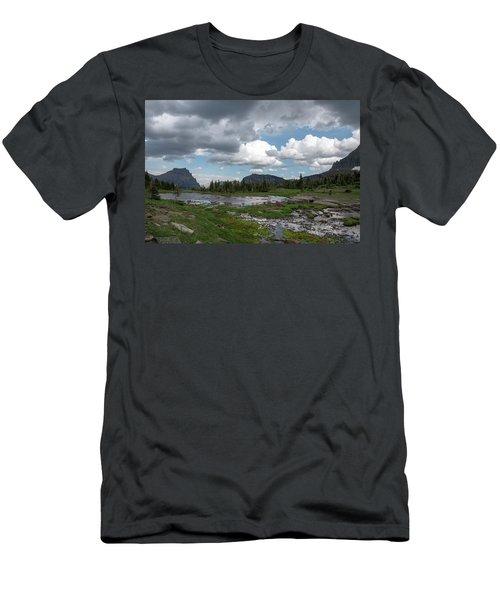 Alpine Oasis Men's T-Shirt (Athletic Fit)