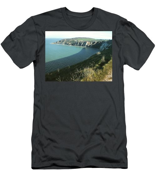 Alum Bay, Isle Of Wight Men's T-Shirt (Athletic Fit)