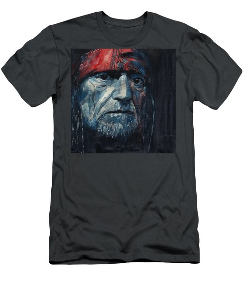 Always On My Mind - Willie Nelson  Men's T-Shirt (Athletic Fit)