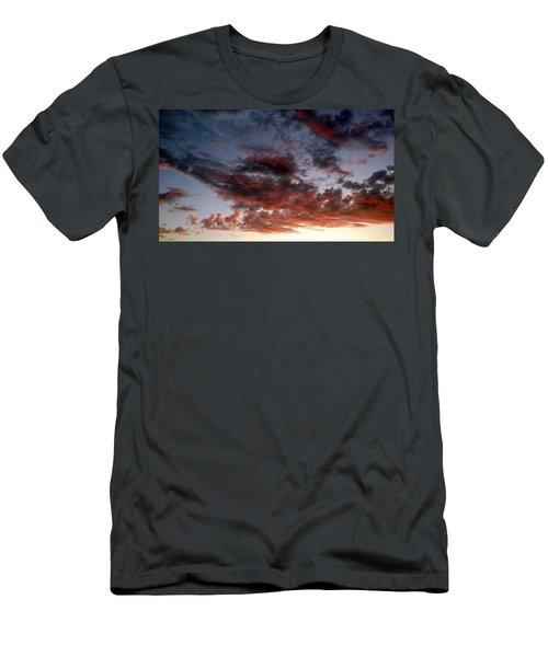 Spectacular Clouds  Men's T-Shirt (Athletic Fit)