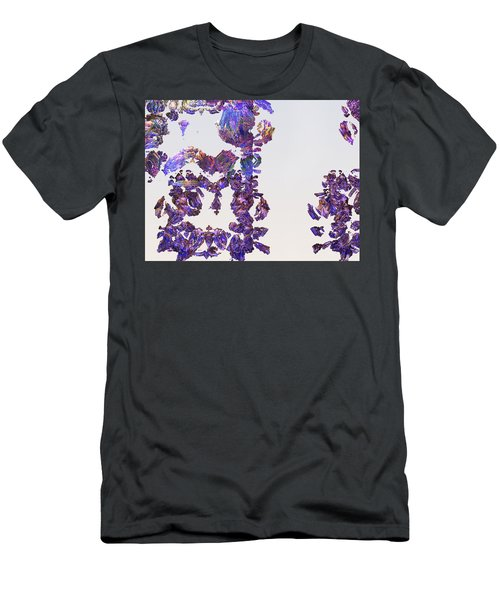 Amazing Delicate Fractal Pattern Men's T-Shirt (Athletic Fit)