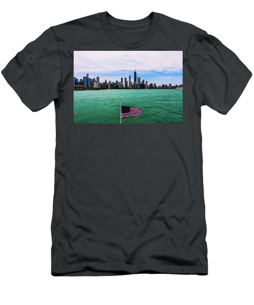 American Chi 2 Men's T-Shirt (Athletic Fit)