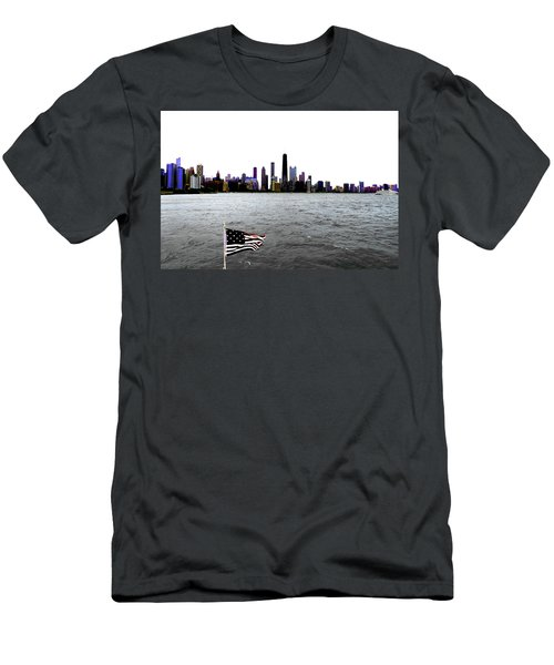 American Chi 3 Men's T-Shirt (Athletic Fit)