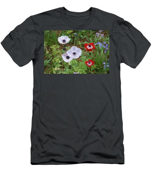 American Flowers Men's T-Shirt (Athletic Fit)