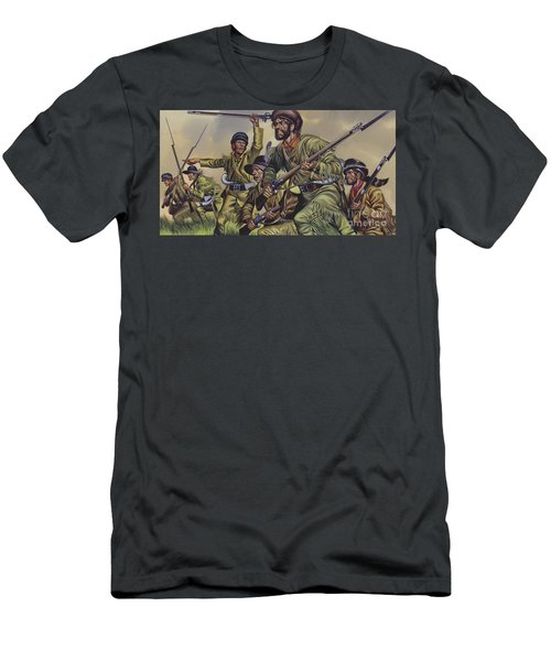 American Frontiersmen Men's T-Shirt (Athletic Fit)