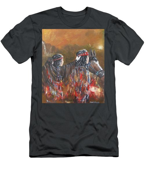 American Indians Family Men's T-Shirt (Athletic Fit)