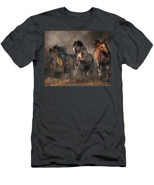 American Paint Horses Men's T-Shirt (Athletic Fit)