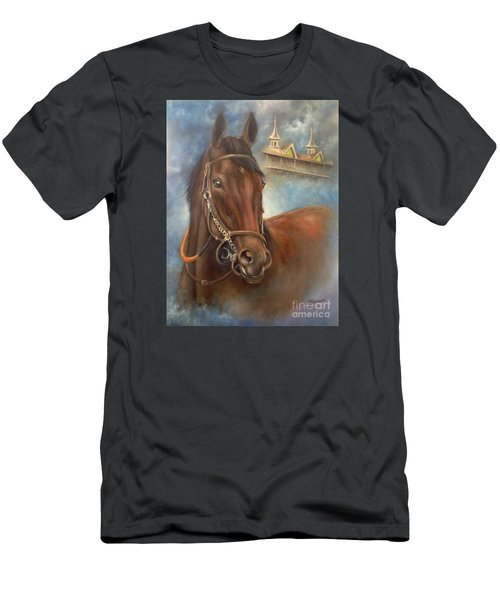 American Pharoah Men's T-Shirt (Athletic Fit)