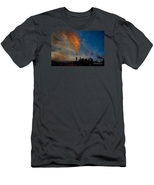 Amish Fireworks Men's T-Shirt (Athletic Fit)