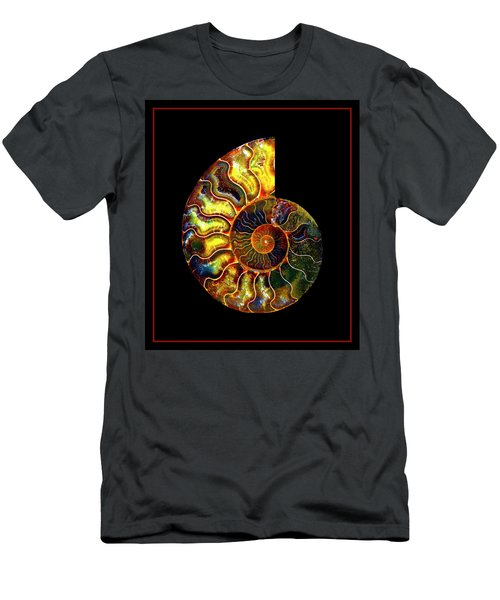 Ammonite Fossil - 8322-3 Men's T-Shirt (Athletic Fit)