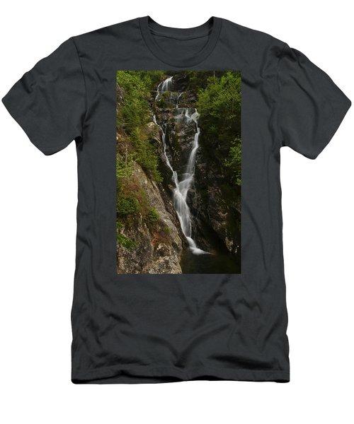 Ammonoosuc Ravine Falls Men's T-Shirt (Athletic Fit)