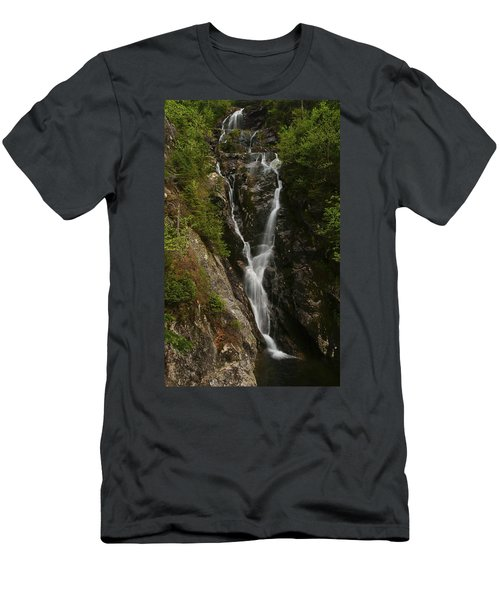 Ammonoosuc Ravine Falls Men's T-Shirt (Athletic Fit)