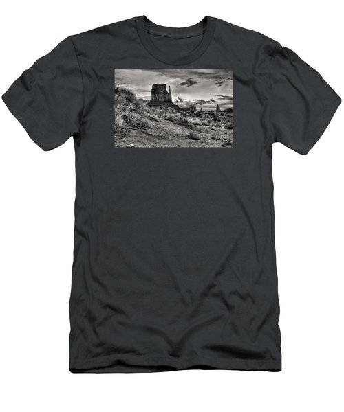Men's T-Shirt (Slim Fit) featuring the digital art Among The Mittens by William Fields