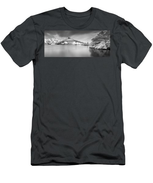 Men's T-Shirt (Slim Fit) featuring the photograph Amritasetu by Sonny Marcyan