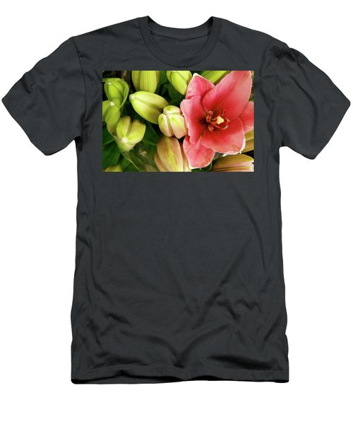 Men's T-Shirt (Slim Fit) featuring the photograph Amsterdam Buds by KG Thienemann