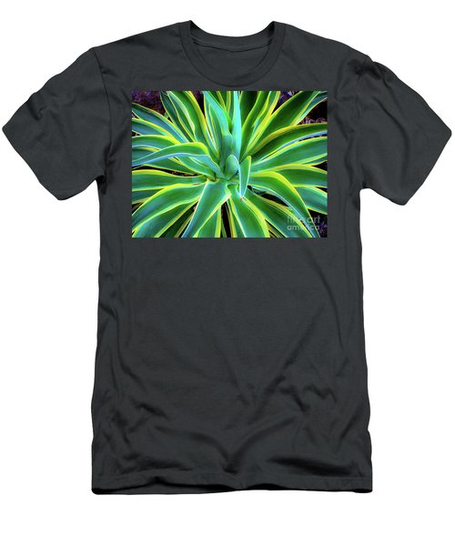 An Agave In Color  Men's T-Shirt (Athletic Fit)