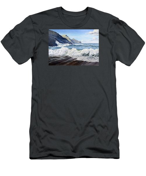 An April Morning At Crackington Haven Men's T-Shirt (Athletic Fit)