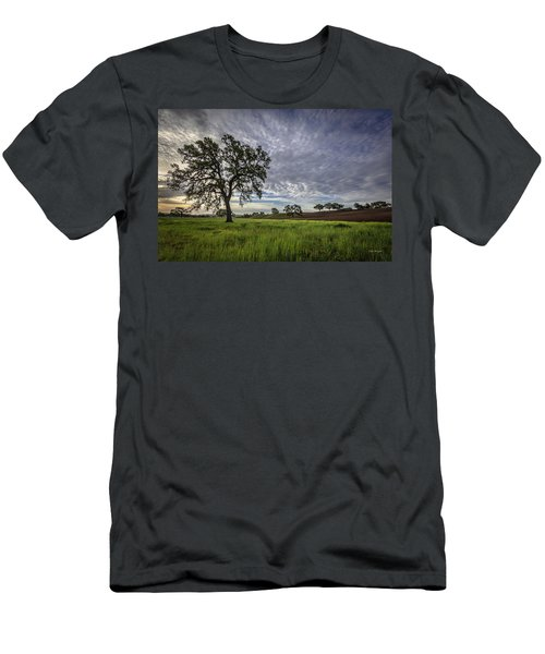 An April Sunday Morning Men's T-Shirt (Athletic Fit)