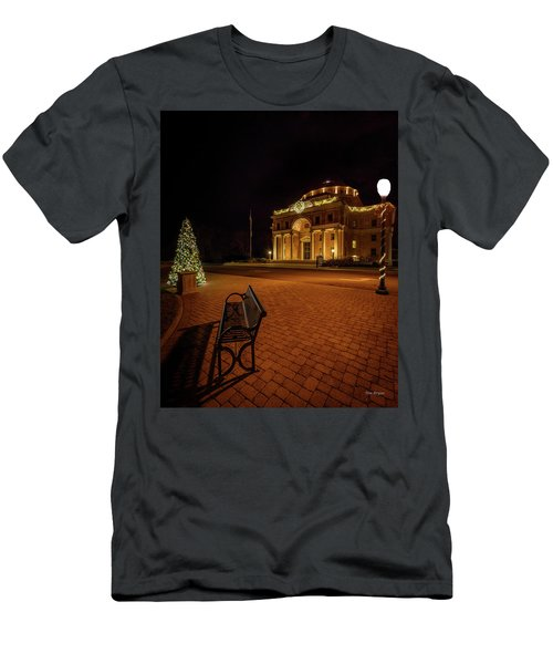 Men's T-Shirt (Athletic Fit) featuring the photograph An Atascadero Christmas by Tim Bryan