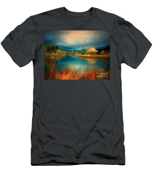 An Autumn Storm Men's T-Shirt (Athletic Fit)
