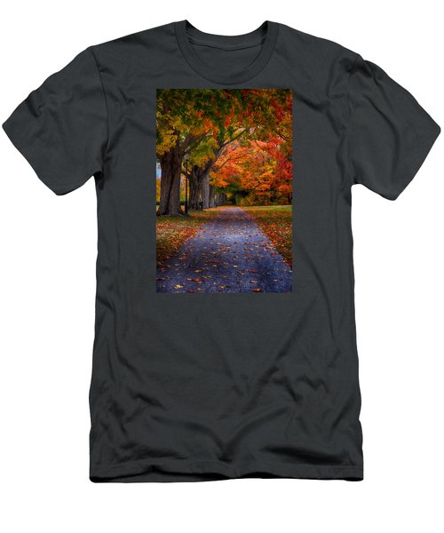 An Autumn Walk Men's T-Shirt (Athletic Fit)