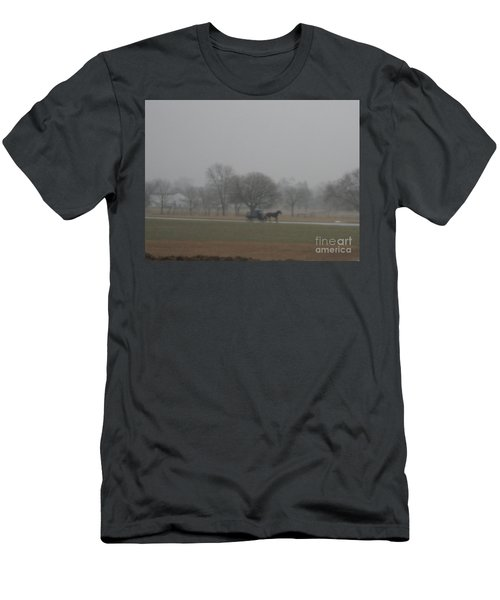 An Evening Buggy Ride Men's T-Shirt (Athletic Fit)