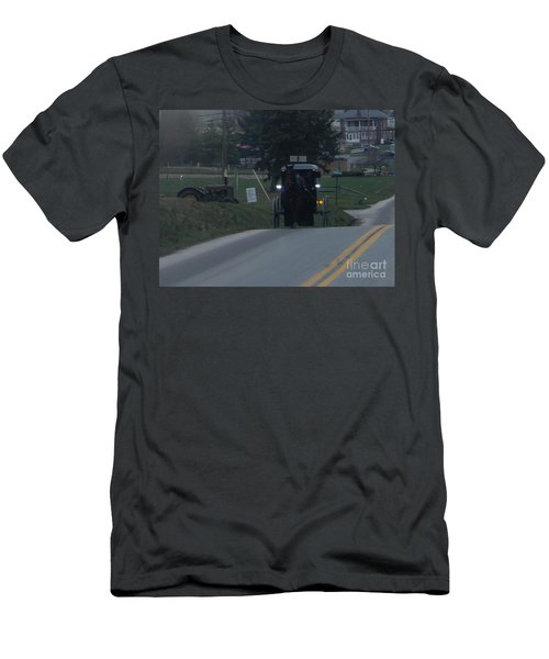 An Evening Commute Men's T-Shirt (Athletic Fit)