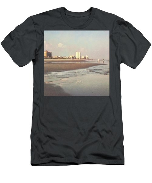 An Evening Walking The Grand Strand Men's T-Shirt (Athletic Fit)