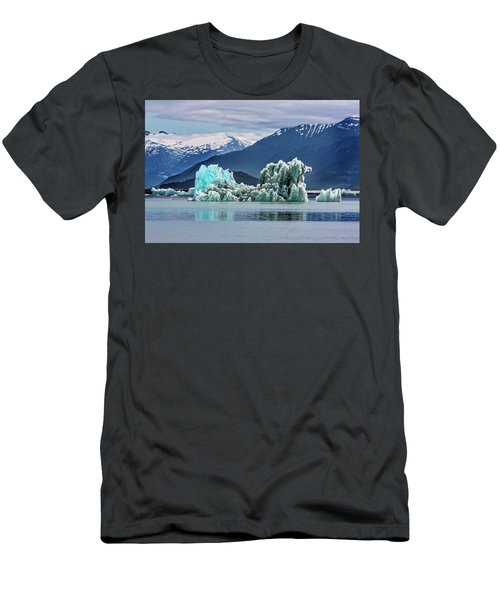 An Iceberg In The Inside Passage Of Alaska Men's T-Shirt (Athletic Fit)