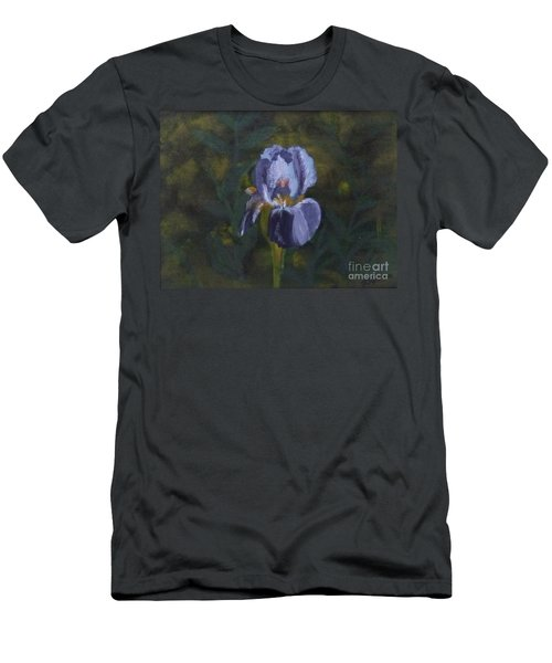 An Iris In My Garden Men's T-Shirt (Athletic Fit)