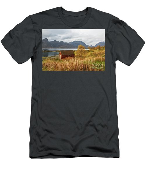 An Old Boathouse Men's T-Shirt (Athletic Fit)