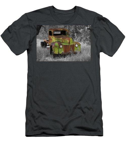 An Old Friend Men's T-Shirt (Slim Fit) by Richard J Cassato