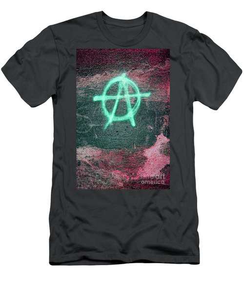 Anarchy In Tallinn Men's T-Shirt (Athletic Fit)
