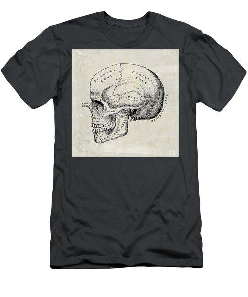 Anatomical Skull Medical Art Men's T-Shirt (Athletic Fit)