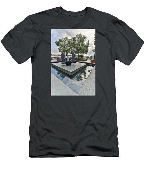 Anchor Monument Men's T-Shirt (Athletic Fit)