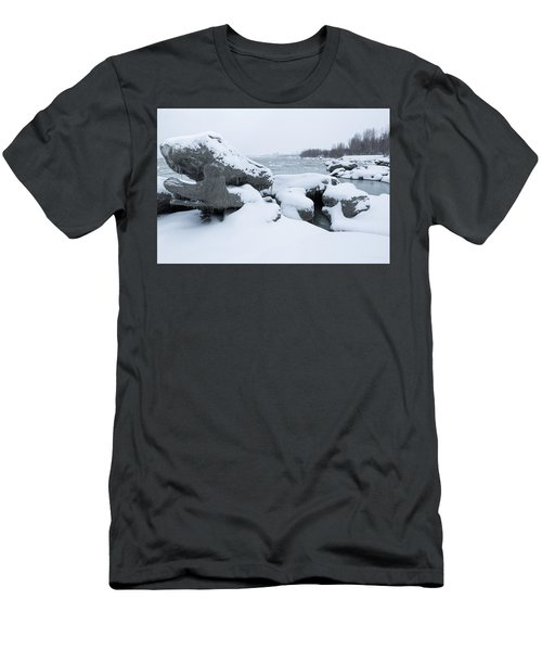 Anchorage Bergs Men's T-Shirt (Athletic Fit)